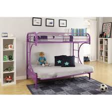 Futon Bunk Bed With Mattress Eclipse Twin Over Full Futon Bunk Bed Multiple Colors Walmart Com