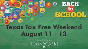 Southlake Town Square Map Tax Free Weekend