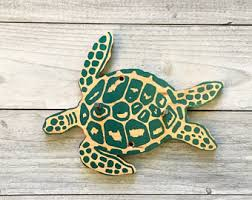 Sea Turtle Bathroom Accessories Sea Turtle Gifts Etsy