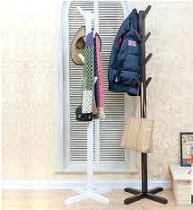 online shop 6 hooks vintage bamboo wooden hanging coat hook hanger