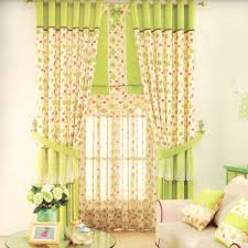 country french curtains lace for kids room