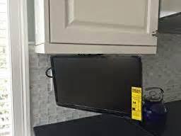 Under Kitchen Cabinet Tv Kitchen Cabinet Mount Under Tv Kitchen
