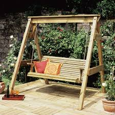 Patio Swing Chair by Garden Swing Seat Patio Outdoor Furniture Timber Wood Chair Chain