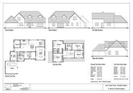 crafty design 12 chalet house plans uk 3 bedroom dormer bungalow
