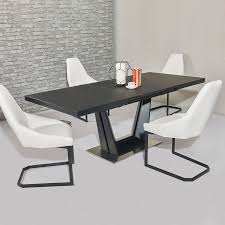 serenity white glass 1 6 2m extending dining table gia serena dtx