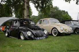 black volkswagen bug ikw wanroij 2014 vw beetle kever weekend meeting classiccult