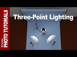 3 point lighting setup three point lighting for portrait photography youtube