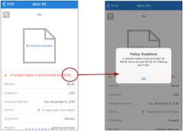 Process Expense Reports expense approvals on nexonia u0027s mobile application u2013 nexonia