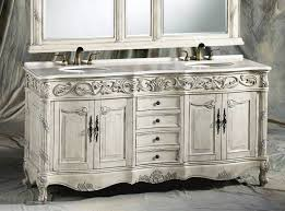 Bathroom Double Sink Cabinets by 72 Inch Ferrari Vanity Double Sink Vanity Antique White Vanity