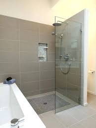 Shower Designs Without Doors Walk In Shower Without Door Shower Designs Walk Walk In Doorless