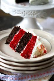 indigo scones mini red velvet and chocolate layer cake
