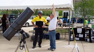 public outreach fort worth astronomical society