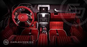 mercedes benz g class 6x6 interior g 63 amg 6x6 gets pimped interior from carlex design autoevolution