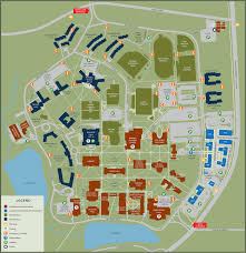 Show Me A Picture Of The World Map by Campus Map U2013 The College Of New Jersey