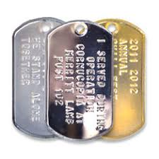 Photo Engraved Dog Tags Custom Military Dog Tags And Supplies