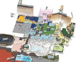Grand Arena Grand West Floor Plan by Fte Global Exhibition Of Passenger Experience Technology Mandalay