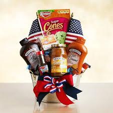 Ice Cream Gift Basket All America Ice Cream Gift Basket At Gift Baskets Etc
