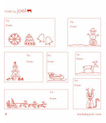 christmas gift label templates u2013 happy holidays