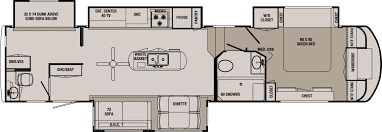 Wildcat Rv Floor Plans by 2 Bedroom Rv Forest River Cherokee 39kr 2bdrm Quad Slide With 1 12