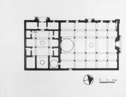 floor plan hospital divrigi ulu camii ve darüssifasi plan of mosque and hospital