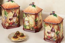 sunflower canister sets kitchen vintage ceramic kitchen canister sets outofhome