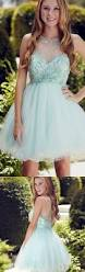 cheap rhinestone light blue party homecoming dresses outstanding