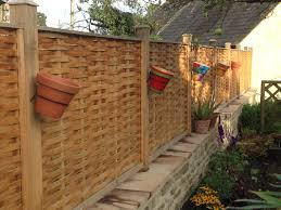 beautiful designer fence panels hand made from oak quercus fencing