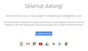 buat akun google facebook cara membuat email baru daftar akun gmail yahoo dan hotmail