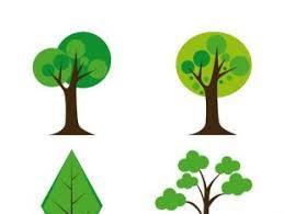 cute trees vector trees illustration set free vectors ui download