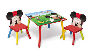 mickey mouse end table disney mickey mouse table and chair amazon co uk kitchen home