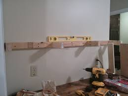 diy kitchen shelving ideas on bliss street diy floating shelves tutorial for 20 each on