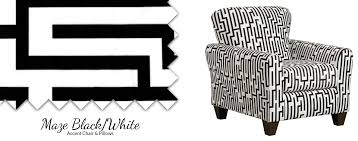 Black And White Accent Chair 9001 Maze Black White Accent Chair U2013 Awfco Catalog Site