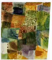 remembrance of a garden 1914 paul klee wikiart org