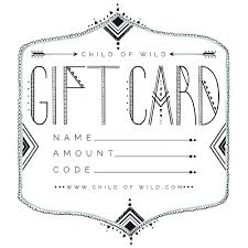 gift cards email gift of child of