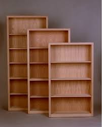 Shaker Bookcase Unfinished Shaker Bookcase Thesecretconsul Com