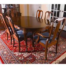 Pennsylvania House Dining Table And Chairs  EBTH - Pennsylvania house dining room set