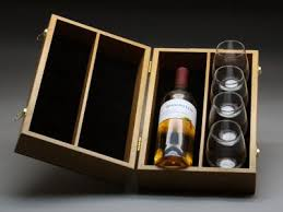 wine bottle gift box personalized wine bottle presentation box with goblets hosting