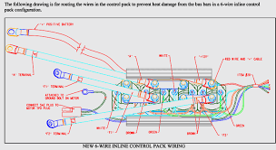 new 6 wire inline control pack wiring diagram winchserviceparts com