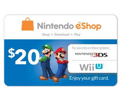 play digital gift card nintendo eshop gift card 20 usd digital code us