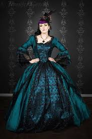 Womens Peacock Halloween Costume Gothic Marie Antoinette Peacock Fantasy Gown Halloween Upscale