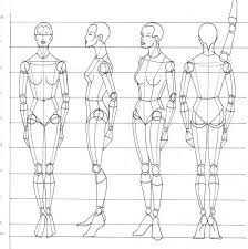 Anatomy Of Human Body Sketches Rule Of Proportion The Human Body Figure Drawing Martel Fashion