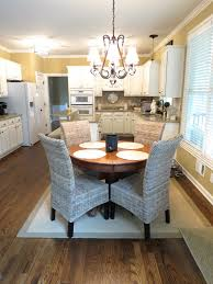 upholstered breakfast nook pier 1 kubu chairs future house ideas pinterest dining