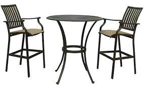 Outdoor Patio Furniture Bar Height Bar Stool Patio Furniture Bar Stools And Table Tuscan Outdoor