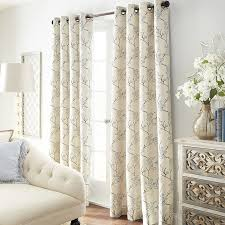 cherry blossom curtains to beautify the home abetterbead