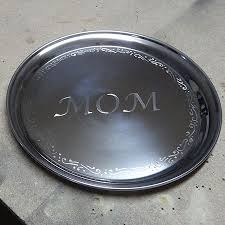 engraved tray engrave stainless steel tray for s day gift hometalk