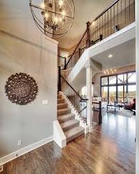 New Home Interior Colors 2 Story Entry Way New Home Interior Design Open Floor Plan