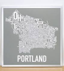 Portland Neighborhoods Map by Portland Neighborhood Map 18