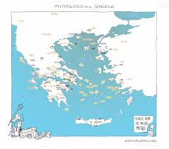 Greece On A Map by Greek Map Of Greece You Can See A Map Of Many Places On The List
