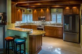 kitchens kitchen cabinets and design kitchen and bath remodeling your only challenge to adding an island where space permits will be to have electric available da vinci can solve this challenge with their qualified