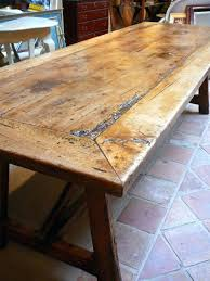 Table With Benches Set Dining Table Early Century Basque Farmhouse Dining Style Table